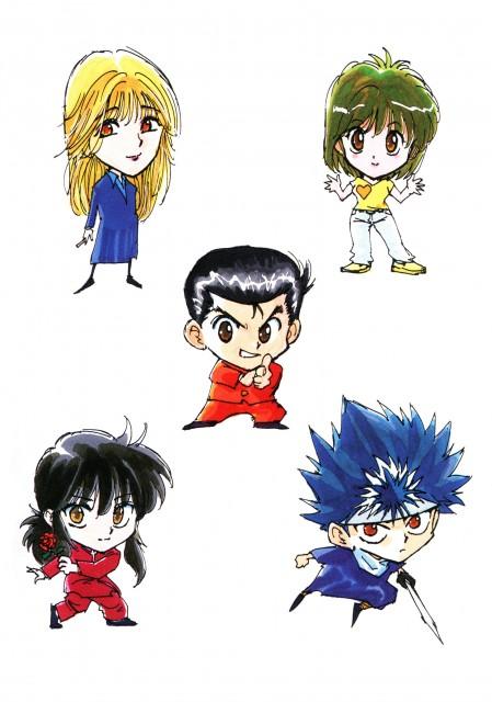 Yoshihiro Togashi, Yuu Yuu Hakusho, Kurama, Hiei, Shizuru Kuwabara