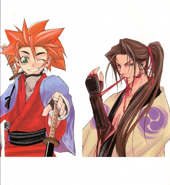 Nanae Chrono, Peacemaker Kurogane, Toshizou Hijikata (Peacemaker Kurogane), Tetsunosuke Ichimura