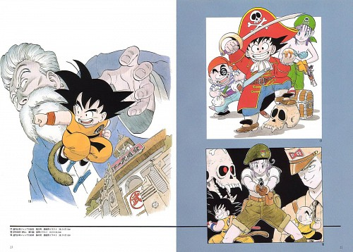 Akira Toriyama, Toei Animation, Dragon Ball, Muten Roshi, Kid Goku