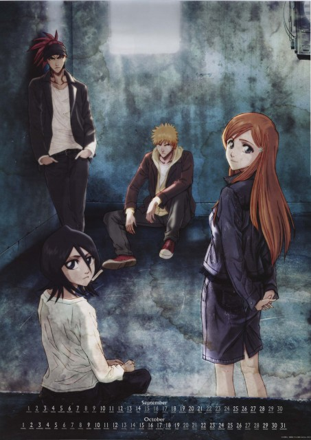 Studio Pierrot, Bleach, Renji Abarai, Ichigo Kurosaki, Orihime Inoue