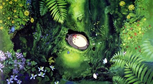 Kazuo Oga, Hayao Miyazaki, Studio Ghibli, My Neighbor Totoro, Mei Kusakabe