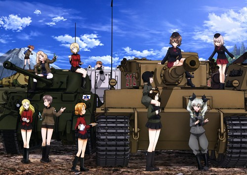 Actas, GIRLS und PANZER, Naomi (GIRLS und PANZER), Chiyomi Anzai, Kay (GIRLS und PANZER)