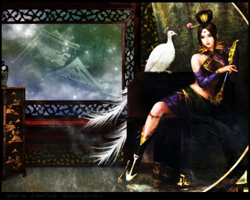 Koei, Dynasty Warriors, Zhen Ji Wallpaper