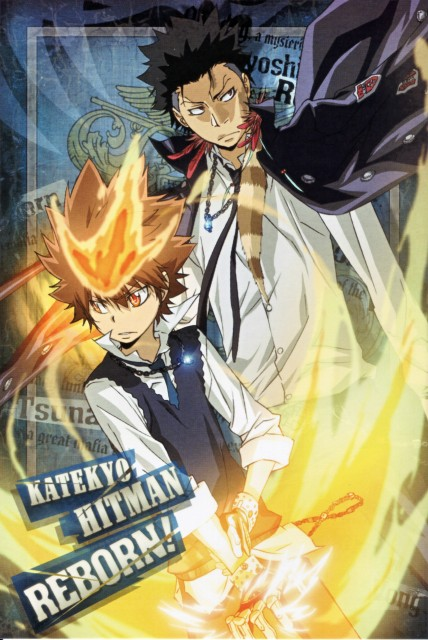 Akira Amano, Artland, Katekyo Hitman Reborn!, Tsunayoshi Sawada, Xanxus