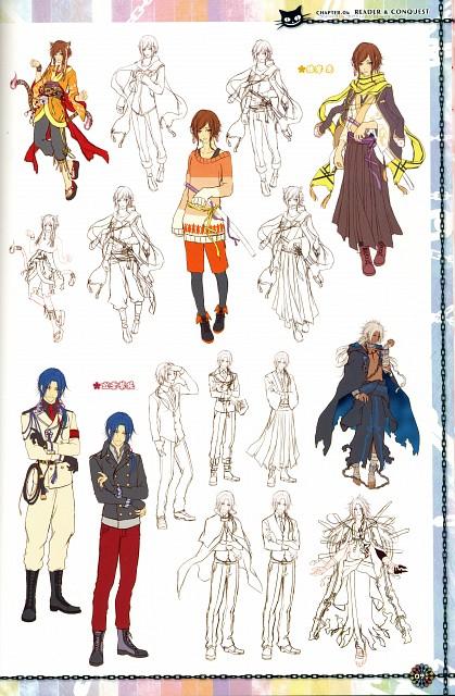 Yasutake Kawahito, Idea Factory, KLAP - Official Visual Fanbook, KLAP!!, Kanade Harima