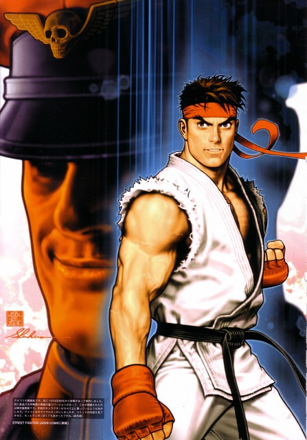 Shinkiro, Capcom, Street Fighter 20th Anniversary Artworks, Street Fighter, Ryu