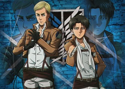 Production I.G, Shingeki no Kyojin, Erwin Smith, Levi Ackerman