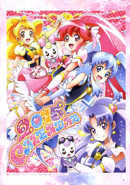 Toei Animation, HappinessCharge Precure!, HappinessCharge Precure! Official Complete Book, Cure Fortune, Cure Honey