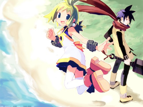 Takehito Harada, Phantom Brave, Ash (Phantom Brave), Marrone Wallpaper