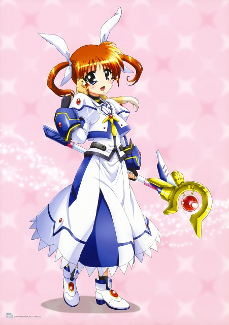 Seven Arcs, Mahou Shoujo Lyrical Nanoha, MSLN The Movie 1st Visual Collection 1, Yuuno Scrya, Nanoha Takamachi