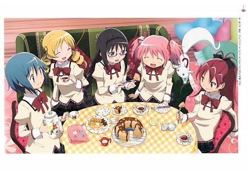 Shaft (Studio), Puella Magi Madoka Magica, Sayaka Miki, Kyoko Sakura, Homura Akemi