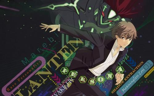 Persona: Trinity Soul, Shin Kanzato, Vector Art Wallpaper