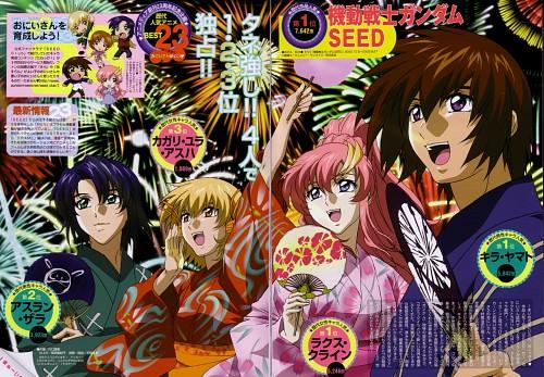 Hisashi Hirai, Sunrise (Studio), Mobile Suit Gundam SEED, Lacus Clyne, Cagalli Yula Athha