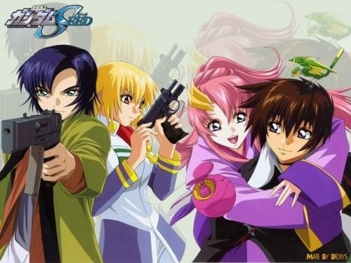 Sunrise (Studio), Mobile Suit Gundam SEED, Athrun Zala, Torii (Gundam SEED), Kira Yamato Wallpaper