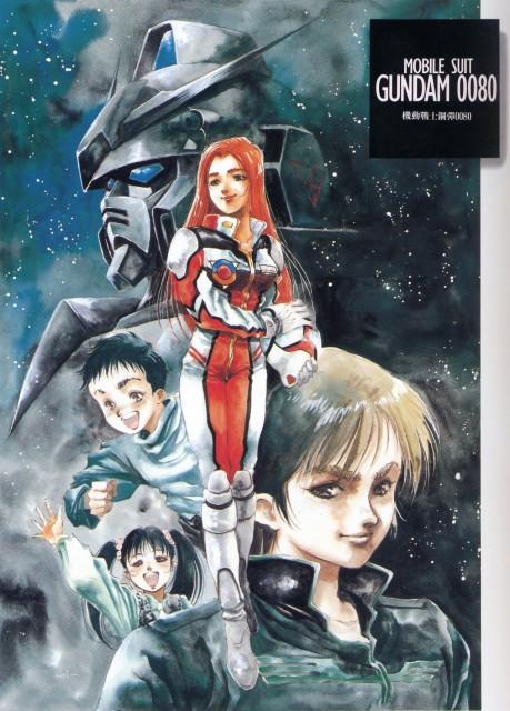 Haruhiko Mikimoto, Sunrise (Studio), Mobile Suit Gundam - Universal Century, Mobile Suit Gundam 0080, Alfred Izuruha