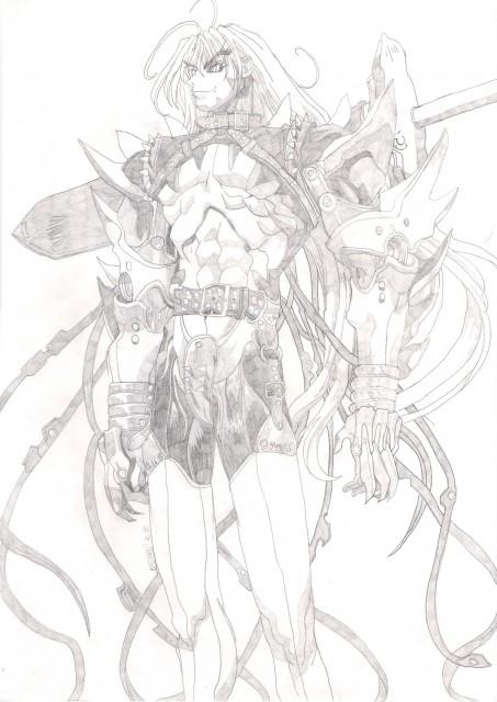 Hagiwara Kazushi, Anime International Company, Bastard!!, Dark Schneider, Member Art