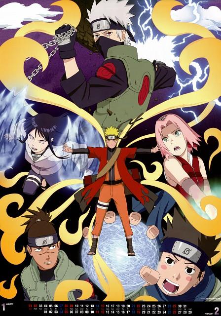 Studio Pierrot, Naruto, Kakashi Hatake, Naruto Sage Mode, Hinata Hyuuga