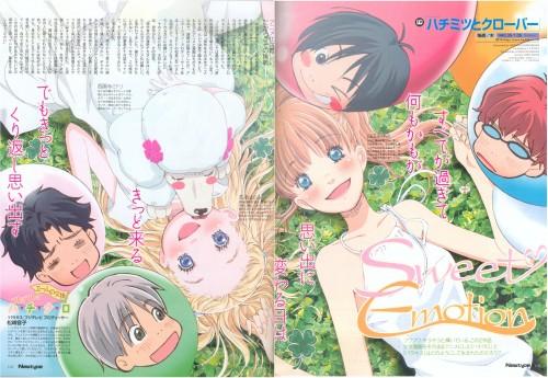 Chika Umino, Honey and Clover, Shinobu Morita, Yuuta Takemoto, Ayumi Yamada