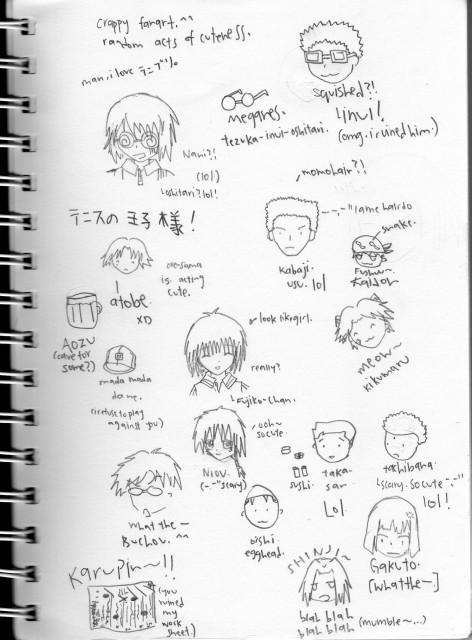 J.C. Staff, Prince of Tennis, Kunimitsu Tezuka, Member Art