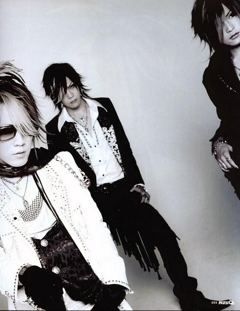 Gazette, Uruha, Kai, Ruki