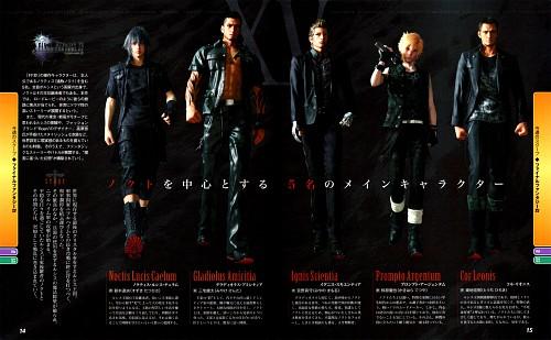 Final Fantasy XV, Noctis Lucis Caelum, Ignis Stupeo Scientia, Prompto Argentum, Cor Leonis