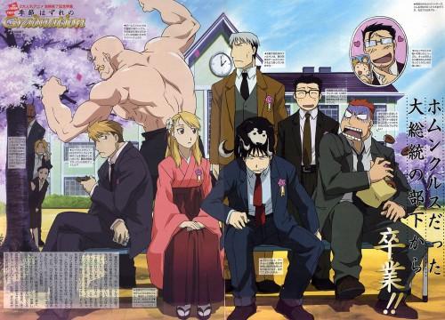 Hiromu Arakawa, BONES, Fullmetal Alchemist, Alex Louis Armstrong, Denny Brosh