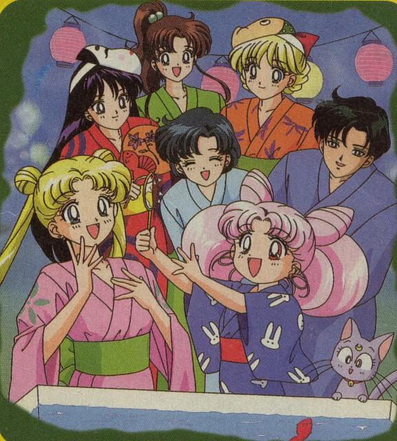 Toei Animation, Bishoujo Senshi Sailor Moon, Minako Aino, Chibi Usa, Makoto Kino