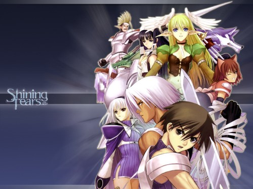 Tony Taka, Shining Tears, Shining Wind, Razalus, Elwing Wallpaper