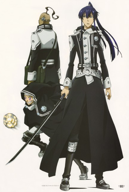 TMS Entertainment, D Gray-Man, Noise Marie, Daisya Barry, Yu Kanda