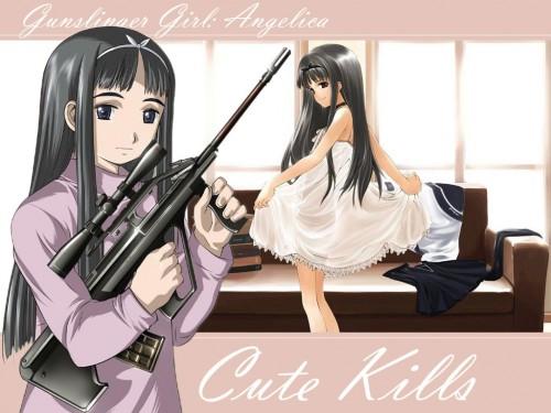 Madhouse, Gunslinger Girl, Angelica (Gunslinger Girl) Wallpaper