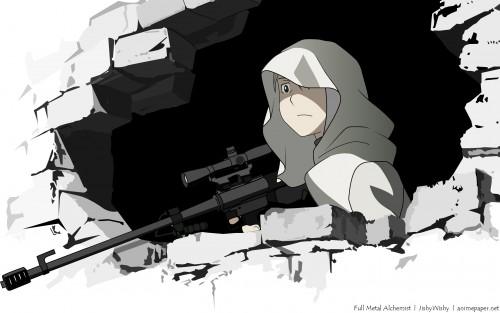 Hiromu Arakawa, BONES, Fullmetal Alchemist, Riza Hawkeye Wallpaper
