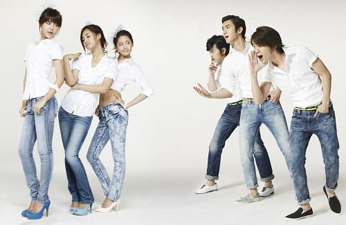 Yoona, Sungmin, Sooyoung, Siwon, Girls Generation