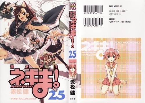 Ken Akamatsu, Xebec, Mahou Sensei Negima!, Chisame Hasegawa, Konoka Konoe