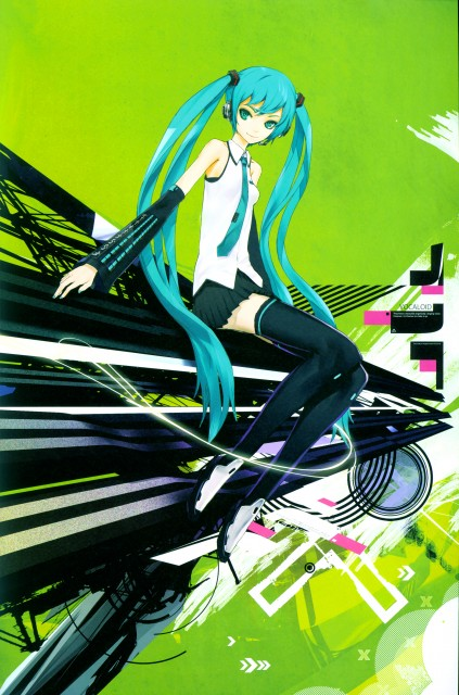 redjuice, EXT: redjuicegraphics works magazine 2009 summer, Vocaloid, Miku Hatsune, Comic Market