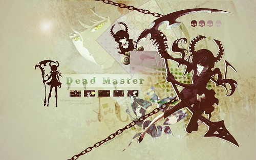 huke, Black Rock Shooter, Dead Master Wallpaper