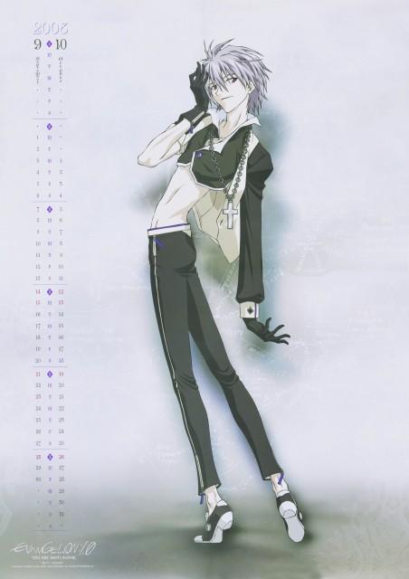 Youichi Fukano, Yoshiyuki Sadamoto, Neon Genesis Evangelion, Kaworu Nagisa, Calendar