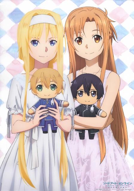 Abec, A-1 Pictures, Sword Art Online, Asuna Yuuki, Alice Schuberg