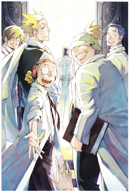 Katsura Hoshino, D Gray-Man, Noche - D.Gray-man Illustrations, Tapp Dopp, Reever Wenham