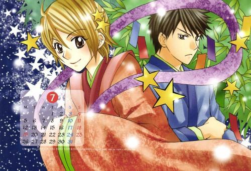 Kiiro Yumi, Toshokan Sensou, LaLa Kiremeki Star Calendar 2010, Kasahara Iku, Atsushi Dojo
