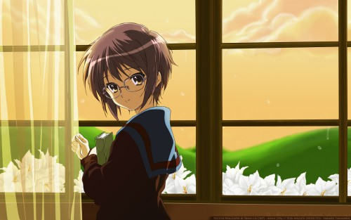 Noizi Ito, Kyoto Animation, The Melancholy of Suzumiya Haruhi, Yuki Nagato, Vector Art Wallpaper