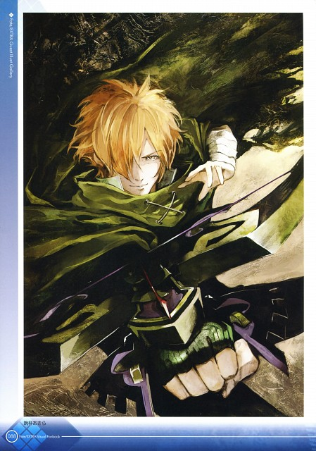 Akira Banpai, TYPE-MOON, Fate/Extra Visual Fan Book, Fate/EXTRA, Robin Hood
