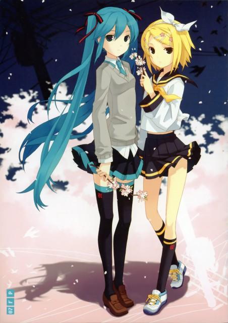 H2SO4, The Move, Vocaloid, Miku Hatsune, Rin Kagamine