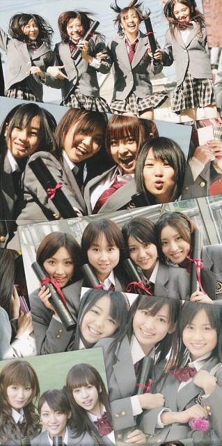 Tomomi Itano, Tomomi Kasai, Yuki Kashiwagi, Kana Kobayashi, Atsuko Maeda