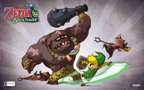 Nintendo, The Legend of Zelda: Spirit Tracks, The Legend of Zelda, Toon Link, Link