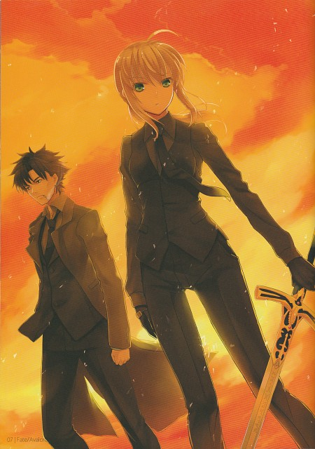 Prime (Mangaka), TYPE-MOON, Fate/Zero, Kiritsugu Emiya, Saber