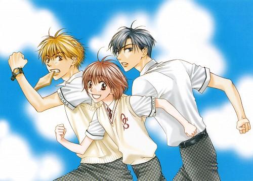 Hisaya Nakajo, Hanazakari no Kimitachi e, Shuichi Nakatsu, Mizuki Ashiya, Izumi Sano