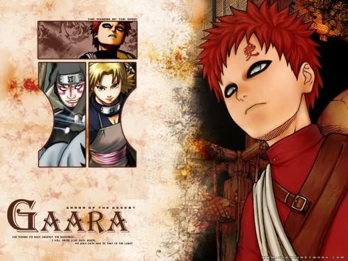 Masashi Kishimoto, Studio Pierrot, Naruto, Gaara, Temari Wallpaper