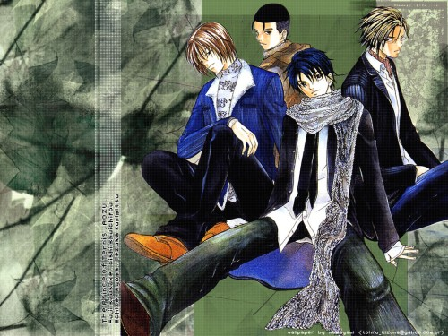 Takeshi Konomi, J.C. Staff, Prince of Tennis, Shusuke Fuji, Kunimitsu Tezuka Wallpaper