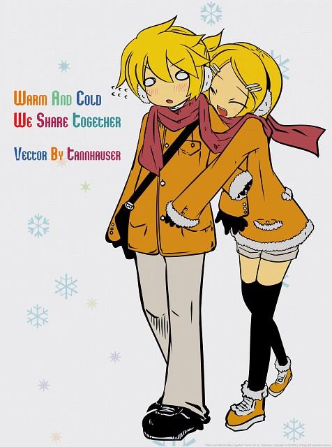 Vocaloid, Len Kagamine, Rin Kagamine, Vector Art