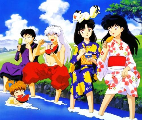 Rumiko Takahashi, Sunrise (Studio), Inuyasha, Miroku , Kagome Higurashi